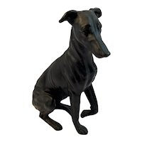 Cast Metal Whippet or Greyhound Dog
