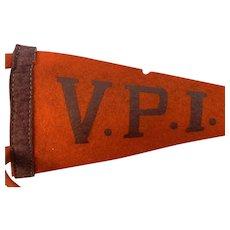 VPI Felt Pennant Circa 1930-40s
