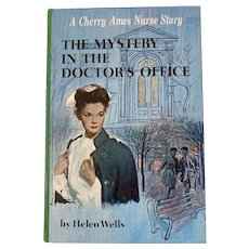1966 Cherry Ames The Mystery in the Doctor's Office by Helen Wells Childrens Book No 26