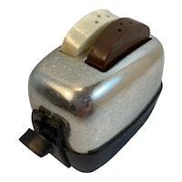 Vintage Toaster Salt and Pepper Shaker Set Made in USA