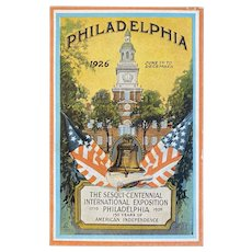 1926 Unused Sesqui-Centennial International Exposition in Philadelphia Postcard by Cardinell