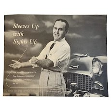 Picture Story of Chevrolet National Sales Convention September 9, 1954 Book Booklet