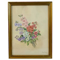 Floral Watercolor by Tilly Ludwig