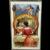 1909 L R Conwell Halloween Postcard Lady Candle Jack o Lantern Vanity Mirror JOL Black Cat Owl Cherub