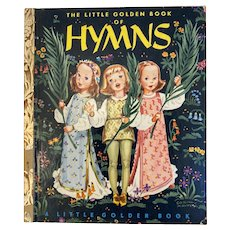 1947 Little Golden Book of Hymns Illustrated by Corrine Malvern