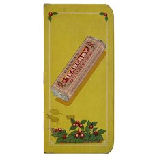 1925 1926 Clark's Teaberry Gum Pocket Calendar Notebook Advertising