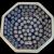 Polish Pottery Octagonal Bowl Boleslawiec Tableware Folk Art Hand Made Painted Poland
