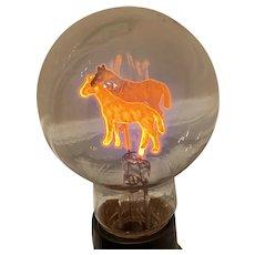 Aerolux Light Bulb Pair of Horses Novelty Lighting