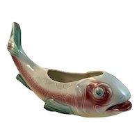 Mid Century McCoy Fish Planter Art Pottery