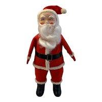 Vintage Santa Claus Figurine Mid Century Made in Japan Felt Suit