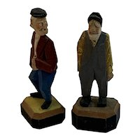 Hand Painted Wood Figures Napco Originals by Giftcraft