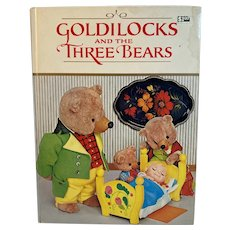 1971 Goldilocks and the Three Bears Illustrated Childrens Book Tadasu Izawa Shigemi Hijikata Fairy Tale