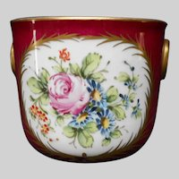 Small French Hand Painted Cachepot