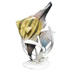 Fine Porcelain Sculpted Rosenthal Fish Figurine