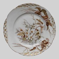 Nineteenth Century H & Co Hand Painted Plate