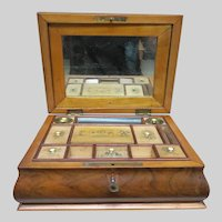 19th Century Sewing Travel Box