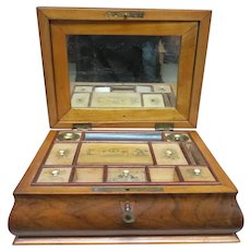 19th Century Sewing Travel Box