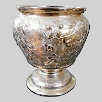 Reed and Barton Repoussé 2954 Silverplate Waste Bowl