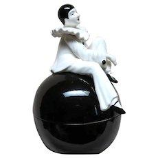 Hand Painted Pierrot Harlequin Taste Setter Sigma Japan Bowl
