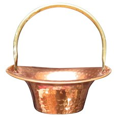 Coppercraft Guild Copper Basket