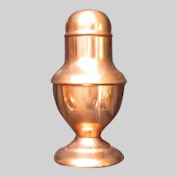 Fabulous Copper Muffineer Sugar Shaker