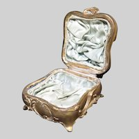 Late 19th Century Jewelry Casket Box has Original Lining