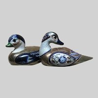 Sergio Bustamante Inspired Pair of Ducks