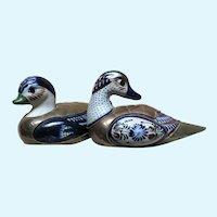Sergio Bustamante Inspired Pair of Ducks