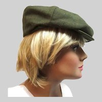 Early 20th Century Luxury Newsboy Cap Gramercy Park