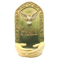 Hands Hand Peace Dove Water Font For Perfect Display