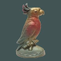 Vintage Parrot Cast Iron Door Stop
