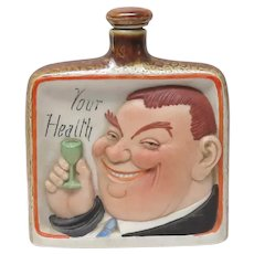 Schafer & Vater Drink to Your Health Novelty Flask
