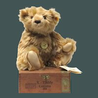 Mr Cinnamon Bear 1903. Hand made in Germany by Steiff EAN 000188