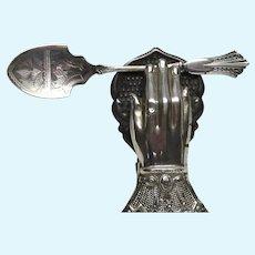 Circa 1890's Slater Bros Preserve or Sugar Spoon