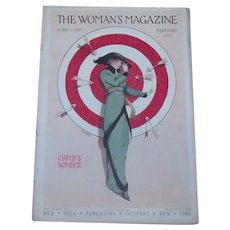 Complete Valentine's Day Cupid Woman's Magazine February 1913