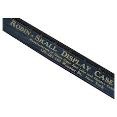 Early 1900's Rare Large Advertising Ruler for Display Case Company