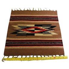 Navajo Chimayo Table Rug