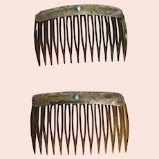 Navajo Sterling Combs