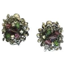 Vintage DeMario Pearl Earrings