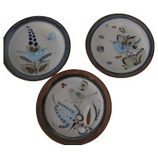 Ken Edwards El Palomar Birds Salad Plates