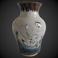 Ken Edwards El Palomar Birds Vase