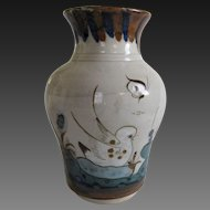 Ken Edwards El Palomar Birds Vase