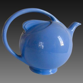 Vintage Hall Airflow Teapot Cadet Blue