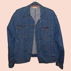 Vintage 1970's Key Imperial Men's Denim Jacket, Size M