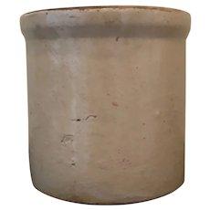 Vintage Salt Glaze Crèam-Colored Stone Crock