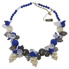 Wowzer Fifties Lucite Fruit Necklace