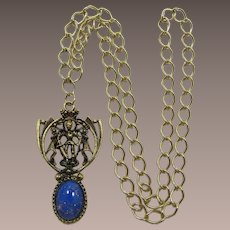 Medieval Knight in Shining Armor Pendant Necklace