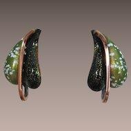"""Renoir Matisse """"Leaflet"""" Earrings"""