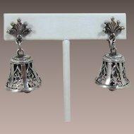 Guglielmo Cini Nouveau Style Bell Earrings
