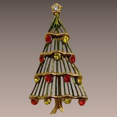 Hedy Christmas Tree Pin - Hard-to-Find